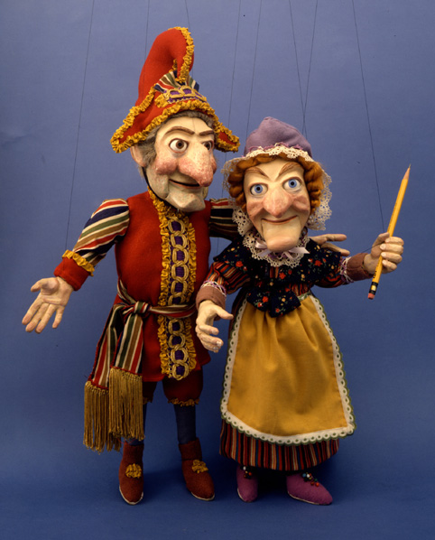 Punch and Judy by Ellen Rixford (click)