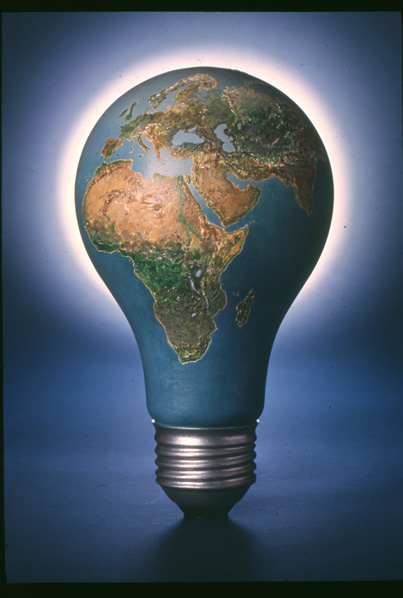 Image result for world with light bulb